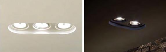 Lakke süvistatavad ülevärvitavad valgustid KU-2