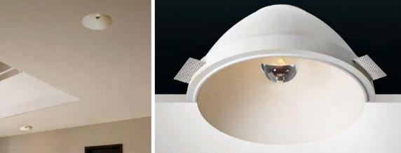 Lakke süvistatav ülevärvitavad valgustid JUMBO (läbimõõduga 270mm)