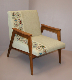 Find vintage furniture and re-designed products