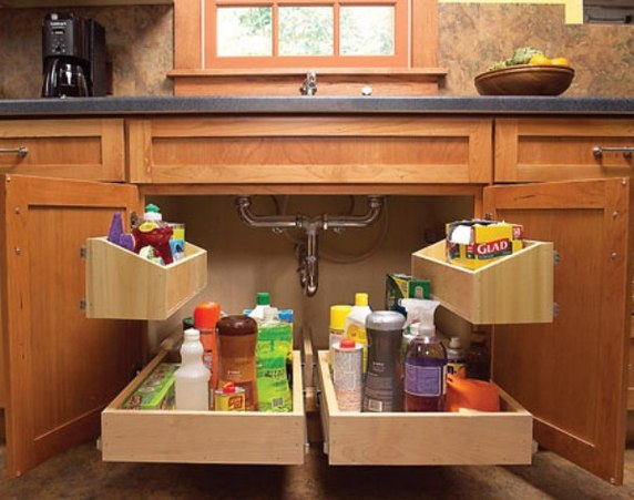 2 | Kitchen Sink Storage Trays Source: www.architecturendesign.net