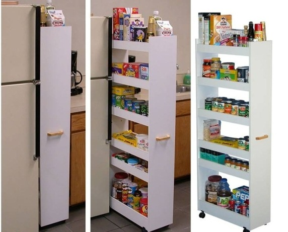 4 | Pull-Out Pantry Cabinet Source: www.architecturendesign.net