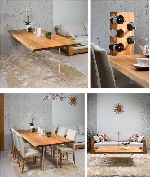 ee6705c6928 Midagi on ka neile, kes ei suuda otsustada, kas valida valge või tamme  tooni laud. Henry laua jalad ja raam on mattvalged ning lauaplaat tamm.