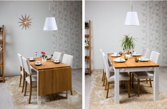 3237dca66b6 ... kas valida valge või tamme tooni laud. Henry laua jalad ja raam on  mattvalged ning lauaplaat tamm. Väiksemasse söögituppa vali klapplaud, ...