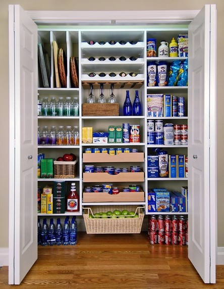 6 | Organized Pantry Source: www.architecturendesign.net
