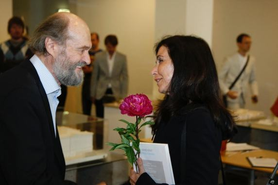 Arvo Pärt and Fuensanta Nieto  (photo R.Avaste) Source: www.arhliit.ee
