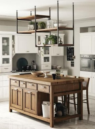 Favilla - the shabby chic kitchen from Scavolini