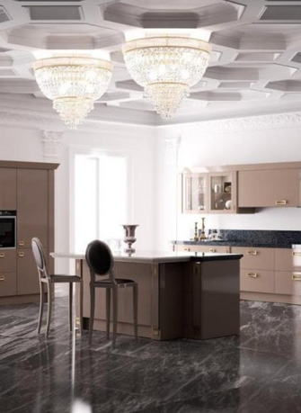 Scavolini introduces the new Italian kitchen furniture Exclusiva