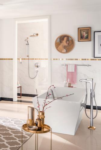 605091b229b hansgrohe Metropol Classic toob elegantsesse vannituppa kuldsed aktsendid