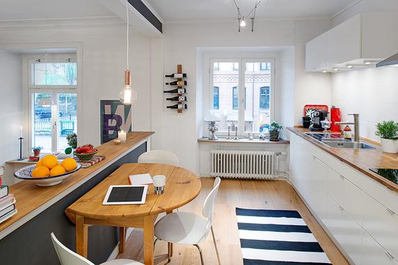 94fa4a39412 Võluv ja huvitava planeeringuga Skandinaavia korter - Sisustusweb.ee