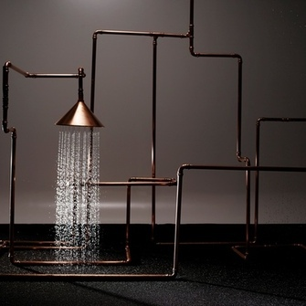 Axor ShowerPipe by Front   Источник:  www.hansgrohe.ee