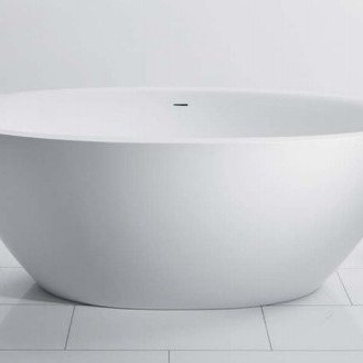 FLO- Freestanding bath with romantic soft lines and uncompromised inner comfort.   Source:  www.balteco.ee