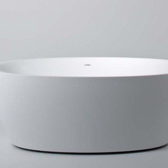 SENZO-  A designer serie bathtub with gentle oval form symbolizing eternity and femininity.   Source:  www.balteco.ee