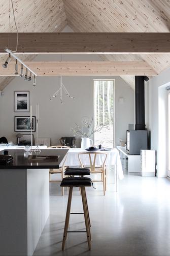 9aba2f605ff Loodusega kooskõlas modernne kodu Rootsi läänerannikul