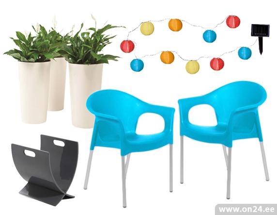 2c00cc5726b NB! Väikesel rõdul on kindlasti plussiks, et toole saab virnastada üksteise  otsa. Värvi ja valgust saad lisada põneva LED valgustiga Energy Balls.