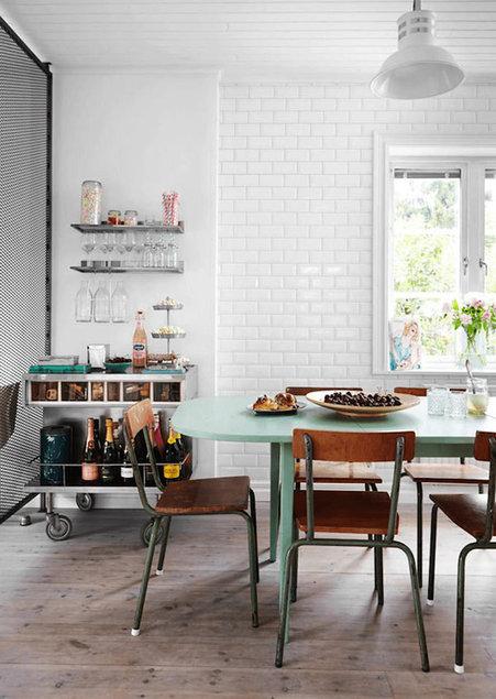 e802c2bab4f Inspireeriv industriaalsete mõjutustega kodu Rootsis