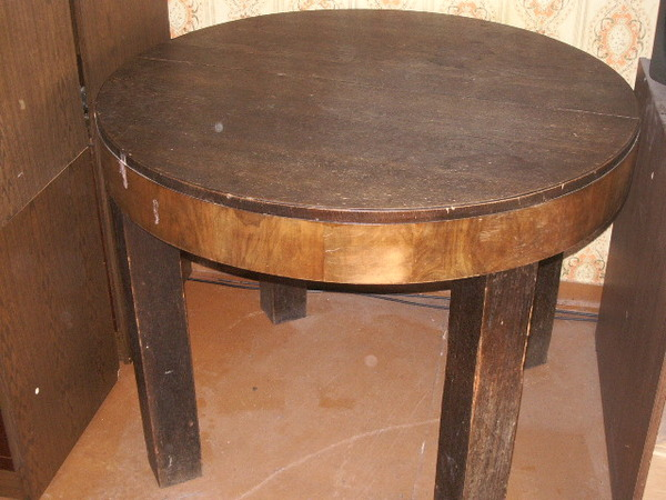 eda067b7abc Laud:ümmargune kõrgus 80cm,diameeter 100cm,neli jalga 10*10cm,oli kunagi  lahtikäiv(vahetükk puudu), sobib talu tüüpi suvilasse-hind näiteks 300.00kr