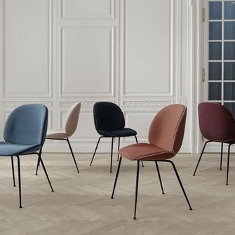 Beetle toolid – tootja: Gubi Source: https://elkemoobel.ee/toode/beetle-chair/