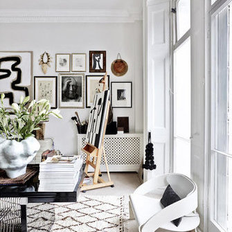 Alkuperä: http://www.myscandinavianhome.com/2017/11/the-striking-eclectic-home-of-malene.html