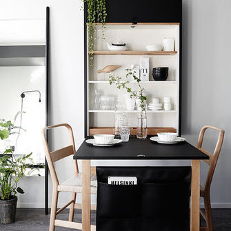 Alkuperä: http://www.myscandinavianhome.com/2016/08/a-beautiful-and-smart-tiny-one-room.html